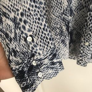 Joie Tops - Joie • Annabelle top in python print